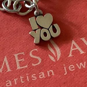 James Avery I LOVE YOU charm